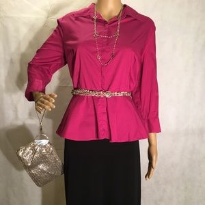 Full Outfit! Elle Blouse, Gap Skirt & Accessories!
